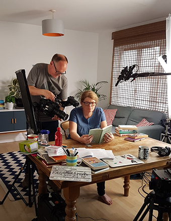 Filming of Writing a Memoir Course